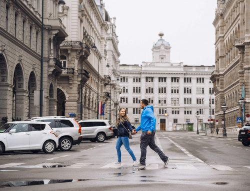 Gemütliches Fotoshooting in Wien